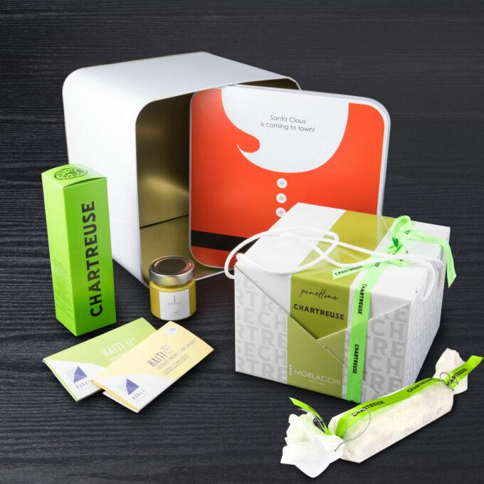 Box Chartreuse Babbo Natale