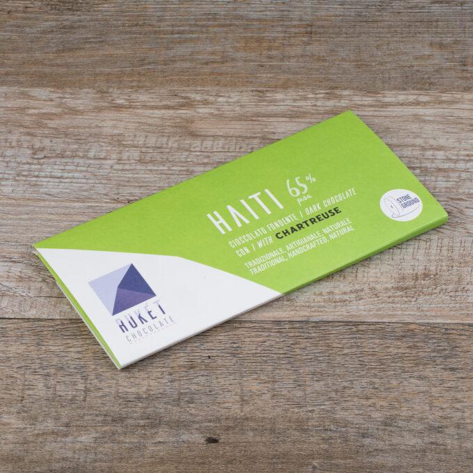 Tavoletta Haiti Pisa 65% con Chartreuse