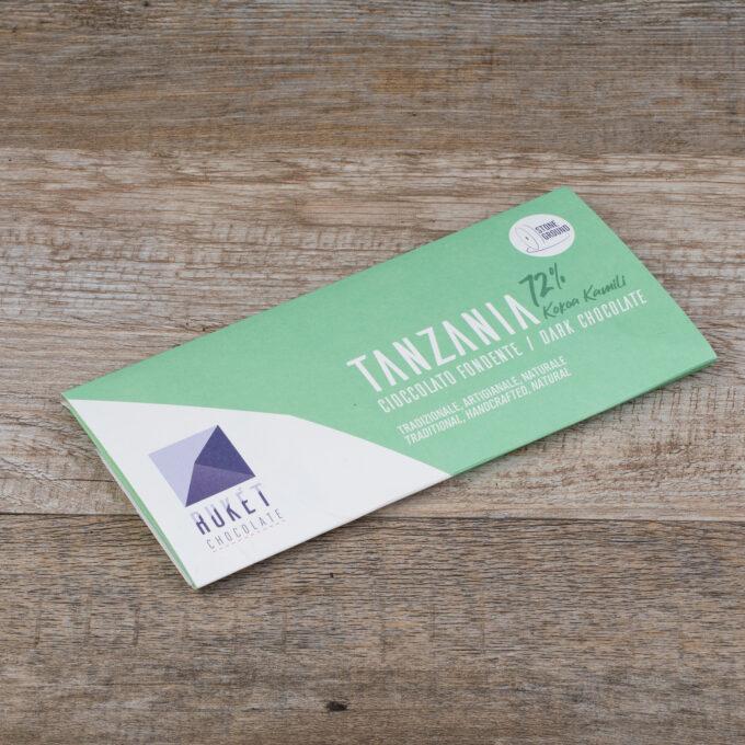 Tavoletta Tanzania Kokoa Kamili 72%